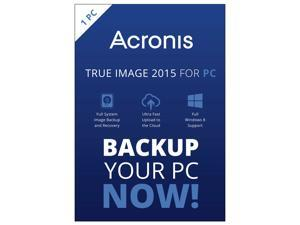 Acronis True Image 2015 - 1 PC (DVD Case)