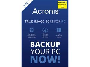 Acronis True Image 2015 w/ Disk Director 12 Bundle
