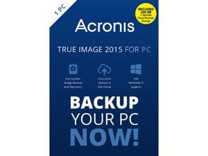 Acronis True Image 2015 w/ 250 GB Cloud Storage