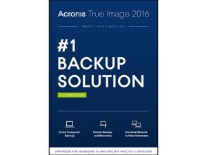 Acronis True Image 2016 - 3 Computer - Download