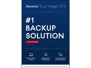 Acronis True Image 2016 - 5 Computer - Download