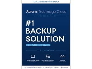 Acronis True Image Cloud - 1 Computer + 3 Devices - Download