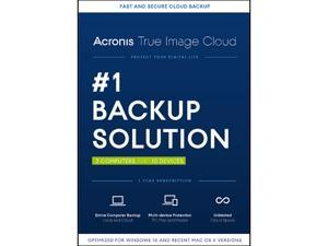 Acronis True Image Cloud - 3 Computer + 10 Devices - Download