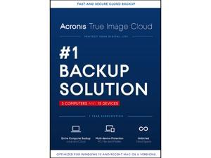 Acronis True Image Cloud - 5 Computer + 15 Devices - Download