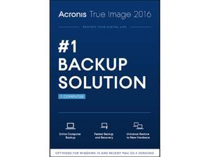 Acronis True Image 2016 - 1 PC (DVD Case)