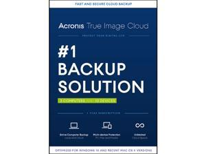 Acronis True Image Cloud 2016 - 3 PCs & 10 Devices