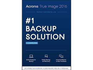 Acronis True Image 2016 + Total Defense PC Tune-Up
