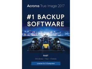 Acronis True Image 2017 - 3 Computer - Download