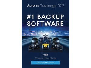 Acronis True Image 2017 - 5 Computer - Download