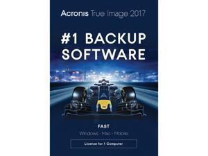 Acronis True Image 2017 for 1 Device