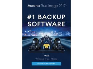 Acronis True Image 2017 - 5 Devices