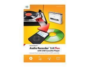 Honestech Audio Recorder 3.0 Plus With USB Cassette Player