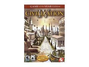 Sid Meier's Civilization IV Game of the Year Edition PC Game