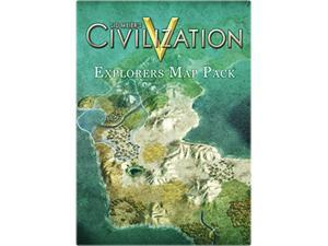 Sid Meier's Civilization V: Explorers Map Pack for Mac [Online Game Code]
