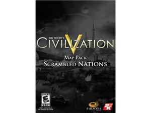 Sid Meier's Civilization 5 - Scrambled Nations Map Pack [Online Game Code]