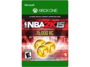 NBA 2K15 75,000 VC XBOX One [Digital Code]