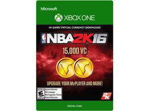 NBA 2K16 15,000 VC XBOX One [Digital Code]