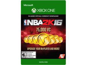 NBA 2K16 75,000 VC XBOX One [Digital Code]