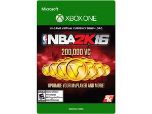 NBA 2K16 200,000 VC XBOX One [Digital Code]
