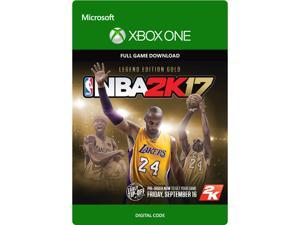 NBA 2K17: Legend Edition Gold Xbox One [Digital Code]