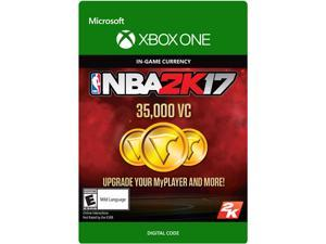 NBA 2K17: 35,000 VC Xbox One [Digital Code]