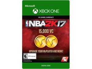 NBA 2K17: 15,000 VC Xbox One [Digital Code]