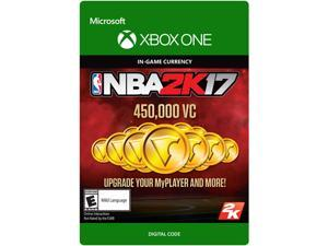 NBA 2K17: 450,000 VC Xbox One [Digital Code]