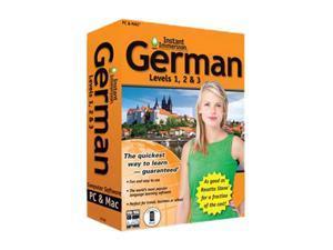 TOPICS Entertainment Instant Immersion German Levels 1,2 & 3