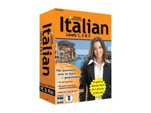 TOPICS Entertainment Instant Immersion Italian Levels 1,2 & 3