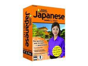 TOPICS Entertainment Instant Immersion Japanese Levels 1,2 & 3