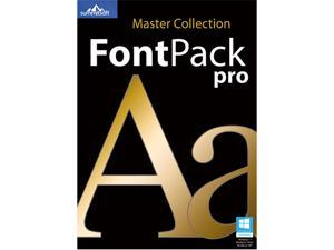 SummitSoft Font Pack Pro Master Collection (Windows/Mac) - Download