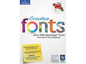 SummitSoft Creative Fonts (Windows) - Download