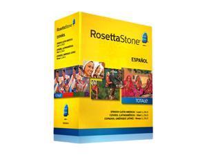 Rosetta Stone Spanish (Latin America) - Level 1-3 Set