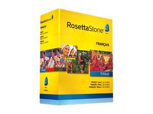 Rosetta Stone French - Level 1-5 Set