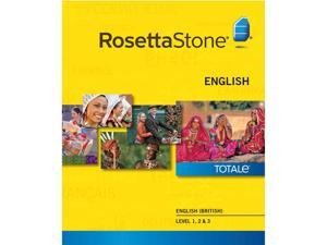 Rosetta Stone English British Level 1-3 Set [Download]