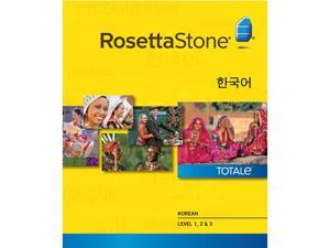 Rosetta Stone Korean Level 1-3 Set [Download]