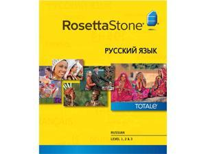 Rosetta Stone Russian Level 1-3 Set [Download]