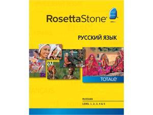 Rosetta Stone Russian Level 1-5 Set [Download]