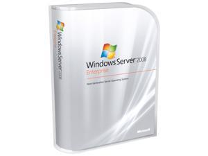 HP Microsoft Windows Server 2008 Enterprise Edition 10CAL- Reseller Option Kit E F S S/W