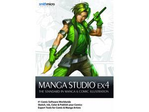 SmithMicro Manga Studio EX 4 - (PC & Mac)