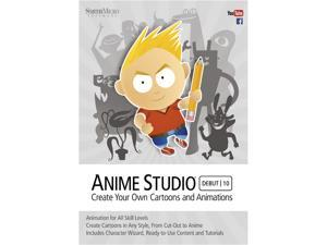SmithMicro Anime Studio Debut 10 - (PC & Mac)
