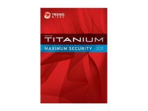 TREND MICRO Titanium Maximum Security 1 User