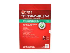 TREND MICRO Titanium Internet Security - 1 User