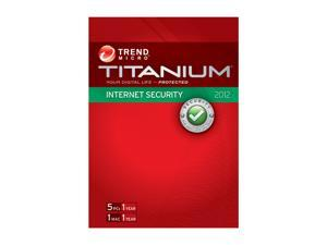 TREND MICRO Titanium Internet Security - 5 User
