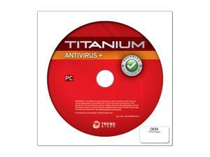 TREND MICRO Titanium Antivirus 2012 - 1 User for System Builder - OEM
