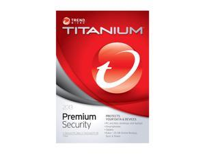 TREND MICRO Titanium Maximum Security Premium 2013 - 5 User