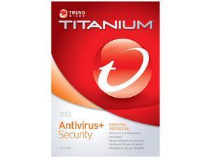 TREND MICRO Titanium AntiVirus 2013 - 1 PC - Download