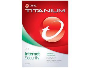 TREND MICRO Titanium Internet Security 2013 - 1 PC - Download