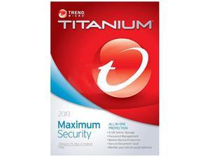 TREND MICRO Titanium Maximum Security 2013 - 3 User - Download