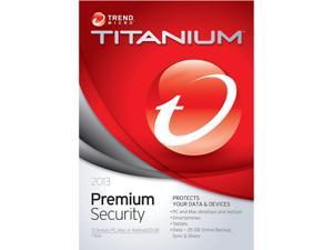 TREND MICRO Titanium Maximum Premium 2013 - 5 PCs - Download